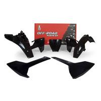 Racetech Plastic Kits Replica Husqvarna 2018 Black