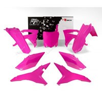 Racetech Kit Plastiche Honda Crf 450 13/16 Crf 250 14/17 Rosa Neon