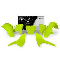 Racetech Kit Plastiche Husqvarna Replica Giallo Neon