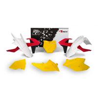 Racetech Kit Plastiche Ktm Replica Old Style 6 Pz Rosso-giallo