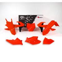 Racetech Kit Plastiche Ktm Replica Old Style 6 Pz Arancio Neon