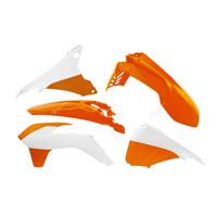 Racetech Kit Plastiche Ktm 5 Pz Bianco Arancio