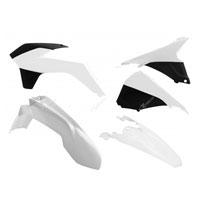 Racetech Kit Plastiche Ktm 5 Pz Bianco