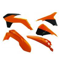 Racetech Kit Plastiche Ktm 5 Pz Nero Arancio
