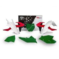 Racetech Kit Plastiche Ktm Replica Old Style 6 Pz Rosso-verde