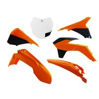 Racetech Kit Sx 13/15 Plastiche Ktm 6 Pz Arancio