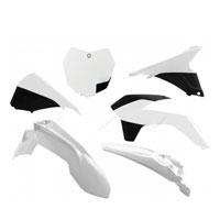 Racetech Kit Sx 13/15 Plastiche Ktm 6 Pz Bianco