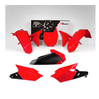 Racetech Kit Plastiche Yamaha Replica Rosso Nero