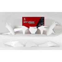 Racetech Plastics Kit Replica Ktm 2019 6pzs White