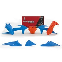Racetech Plastics Kit Replica Ktm 2019 6pzs Blue
