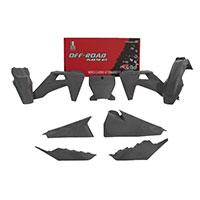 Racetech Kit Plastics 6pz Replica Husqvarna Gray