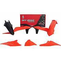 Racetech Plastics Kit Replica Ktm 2020 Orange