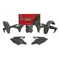 Kit 5pcs Plastics Racetech Replica Kxf250 Grey