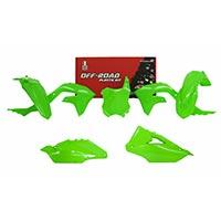 Racetech Replica Plastics Kit Kawasaki Kxf Green