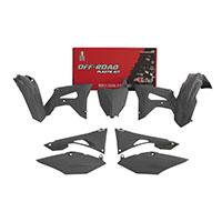 Racetech Kit Plastics 6pz Replica Honda Gray