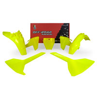 Racetech Plastic Kits Replica Husqvarna 2018 Fluo Yellow
