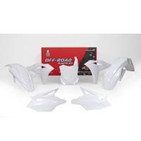 Racetech Kit Plastiche Replica Kawasaki 2018 Bianco