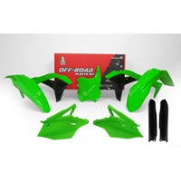 Racetech Kit Plastiche Replica Kawasaki 2018 Verde Fluo