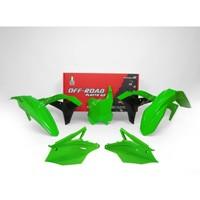 Racetech Kit Plastiche Replica Kawasaki 2018 5pz Verde Fluo