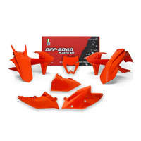 Racetech Plastic Kits Replica Ktm 2018 6 Pcs Orange