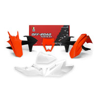 Racetech Plastic Kits Replica Ktm 2018 6pcs Orange White Black