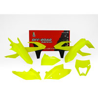 Racetech Plastic Kits Replica Ktm 2018 6pcs Fluo Yellow