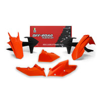 Racetech Plastic Kits Replica Ktm 2018 Orange Black