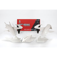 Racetech Kit Plastiche Replica Ktm 2018 Bianco