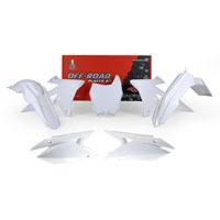 Racetech Plastic Kits Suzuki Replica 2018 White