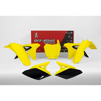 Racetech Plastic Kits Suzuki Replica 2018 Yellow Black