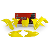 Racetech Plastic Kits Suzuki Replica 2018 5pcs Yellow