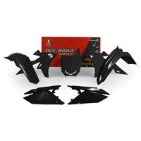 Racetech Plastic Kits Suzuki Replica 2018 Black