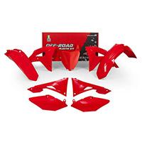 Racetech Replica 6 Pz Plastics Kit Crf 250 19 Red