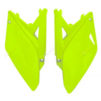 Racetech Side Panel Suzuki Rmz 250 10/16 Yellow Fluo