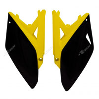 Racetech Side Panel Suzuki Rmz 250 10/16 Yellow-black