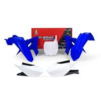 Racetech Kit Plastiche Replica Yamaha 2018 Bianco Blu