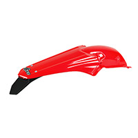 Ufo Enduro Led Rear Fender Honda Red