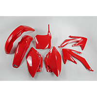 Ufo Plastics Kit Honda Crf 450 2008 Red