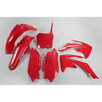 Ufo Plastics Kit Honda Crf 450 09-10 Red