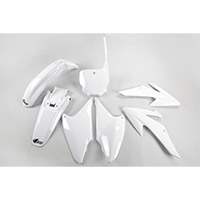 Ufo Plastics Kit Honda Crf 230 08-14 White