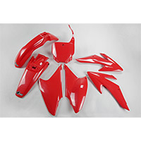 Ufo Plastics Kit Honda Crf 230 08-14 Red