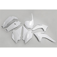 Ufo Plastics Kit Honda Crf 230 15-16 White