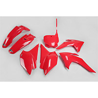Ufo Plastics Kit Honda Crf 230 15-16 Red