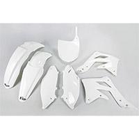 Kit Plastiche Ufo Kawasaki Kxf 450 2012 Bianco