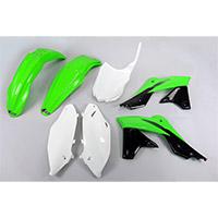 Kit Plastiques Ufo Kawasaki Kxf 250 Oem 16