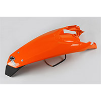 Ufo Enduro Led Ktm Rear Fender Ktm Orange