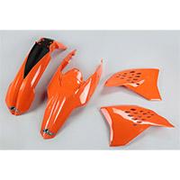 Ufo Kit Plastiche Ktm Exc 09-10 Arancio