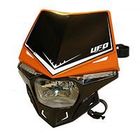 Ufo Stealth Dual Headlight Orange Black