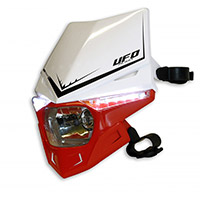 Ufo Stealth Dual Headlight White Red