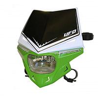 Ufo Stealth Dual Headlight White Green